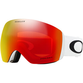 Oakley Flight Deck Gogle Mężczyźni, matte white/w prizm torch iridium